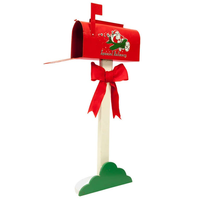 letters to santa mailbox for sale vintage santa mailbox at 1stdibs 24455 | 984158 l