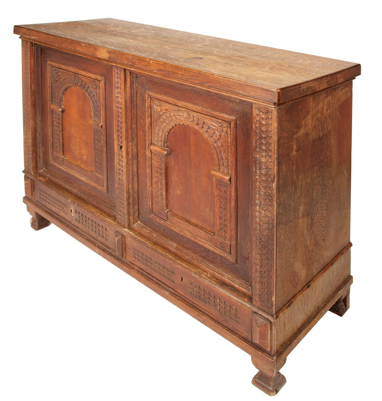 Anglo indian carved commode at 1stdibs for Eastlake storage