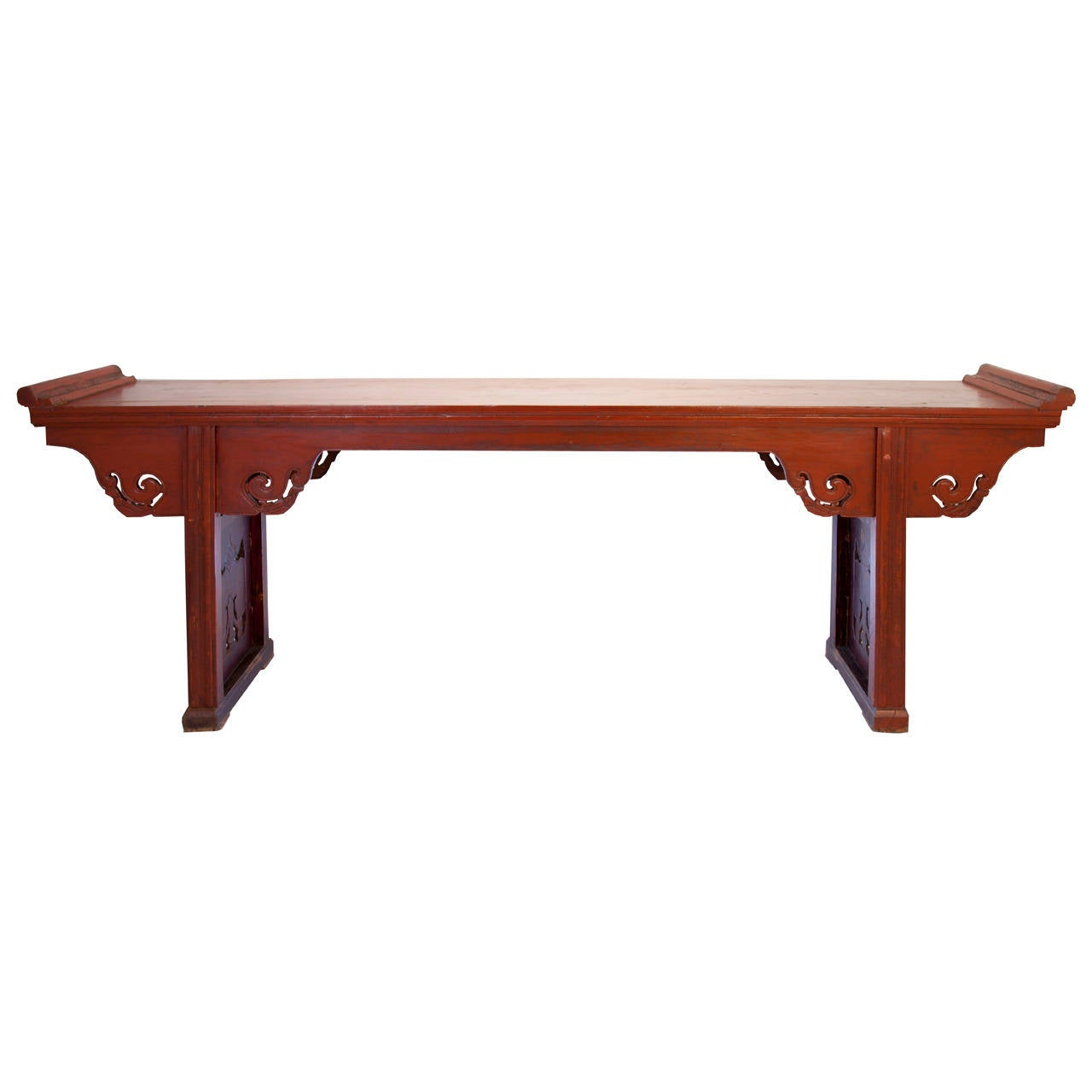 Mid 19th century carved chinese altar table for sale at for Table 52 art smith