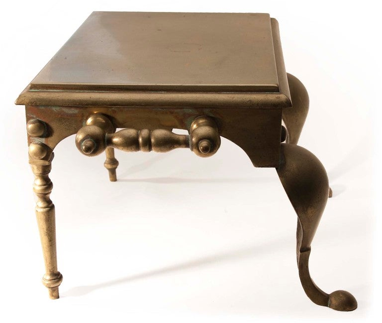 Hearth Bench: Brass Hearth Bench For Sale At 1stdibs