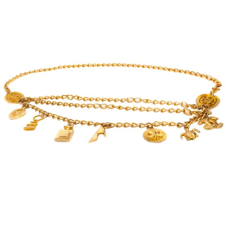 Chanel Style Charm Belt 1