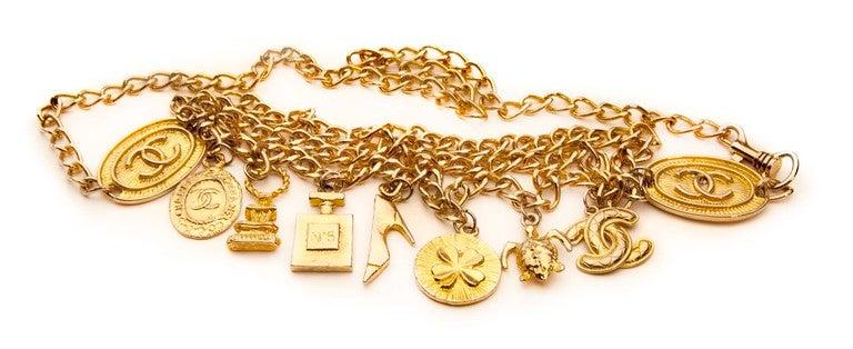 Chanel Style Charm Belt 2