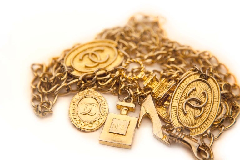 Chanel Style Charm Belt 4