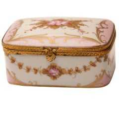 Marie Antionette Style Limoge Box