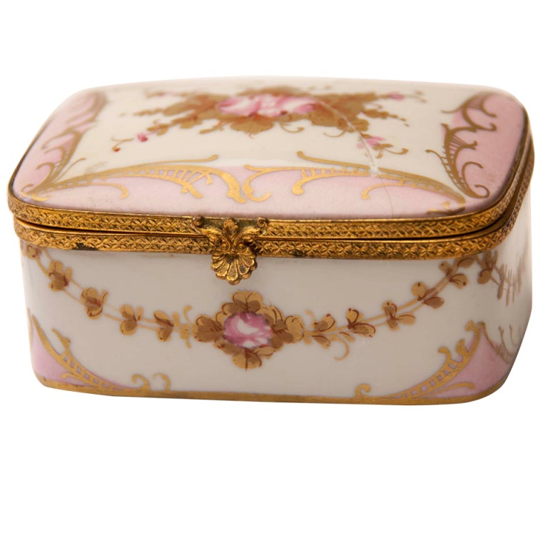 Marie Antionette Style Limoge Box For Sale