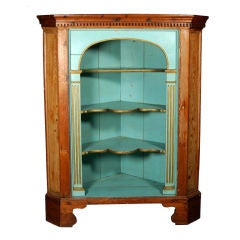 Early 20th Century French Corner Cabinet