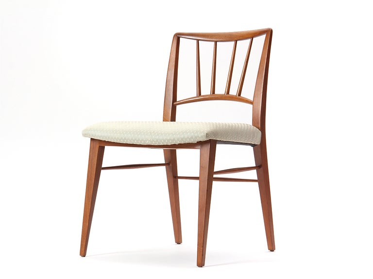 American Spindle Back Dining Chairs by Edward Wormley For Sale
