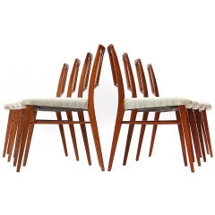 Spindle Back Dining Chairs by Edward Wormley