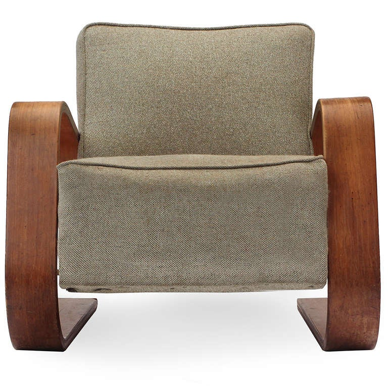 tank chair by alvar aalto for sale at 1stdibs