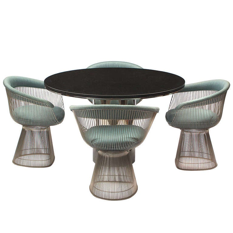 Dining Chairs By Warren Platner At 1stdibs