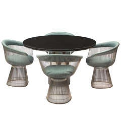 Dining Chairs By Warren Platner