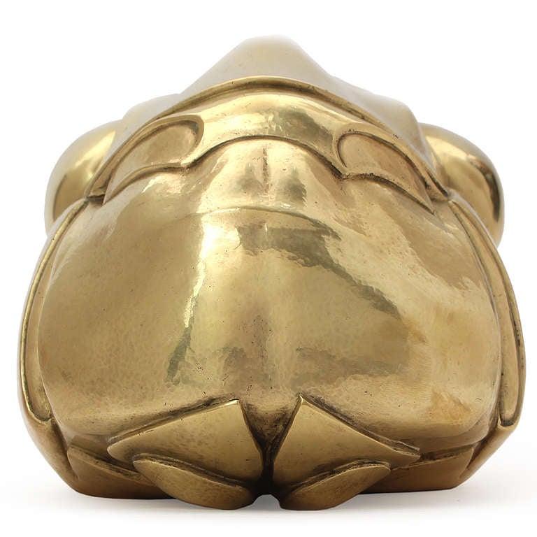 Mid-Century Modern Cast Bronze Grasshopper Sculpture by Philip Grausman For Sale
