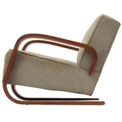 Tank Chair by Alvar Aalto