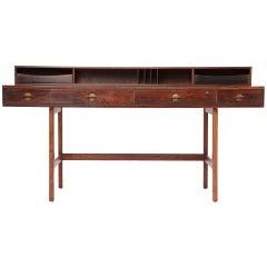 Rosewood Partner's Desk by Peter Lovig Nielsen