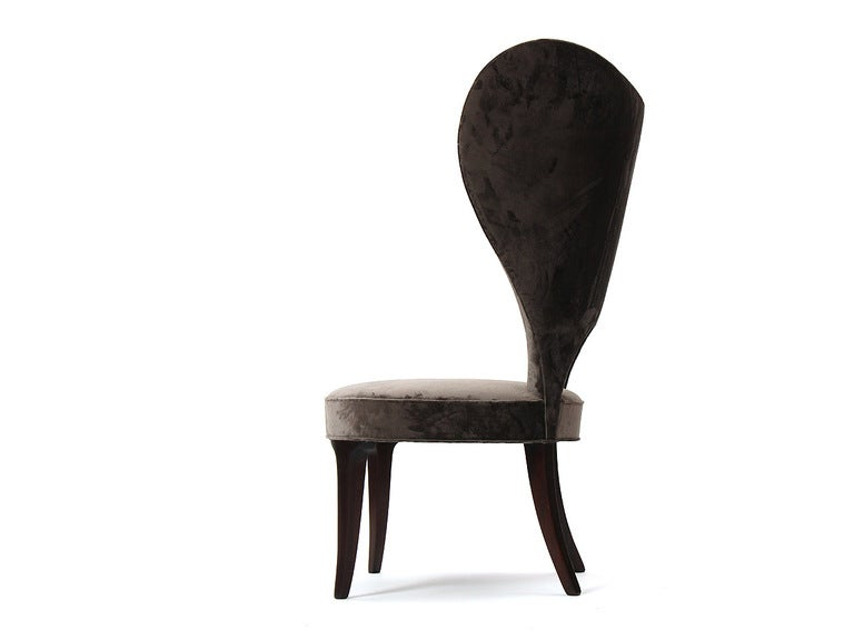 Rare Heart Wingback Chair by Edward Wormley image 6