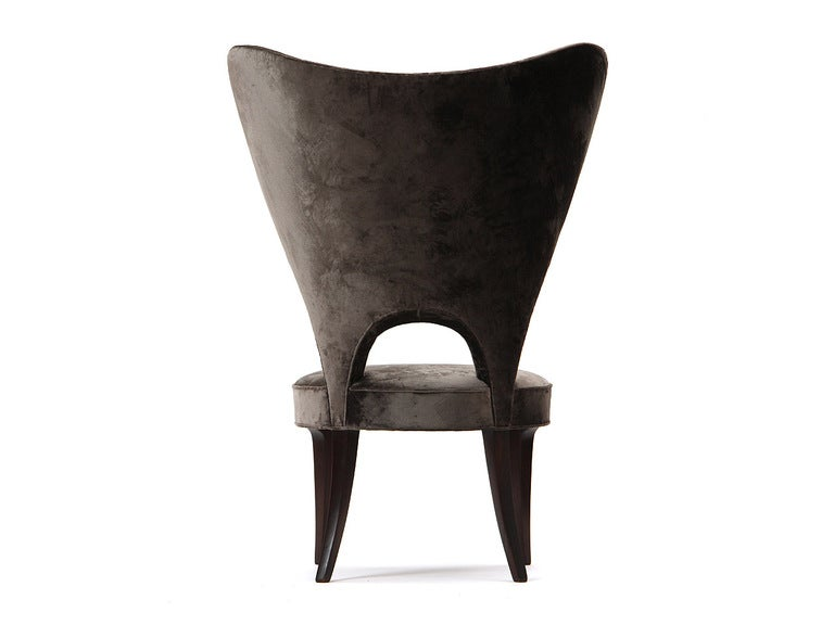 Rare Heart Wingback Chair by Edward Wormley image 8