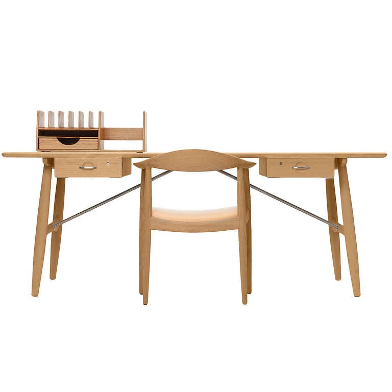 Architects Desk architect's deskhans j. wegner for sale at 1stdibs