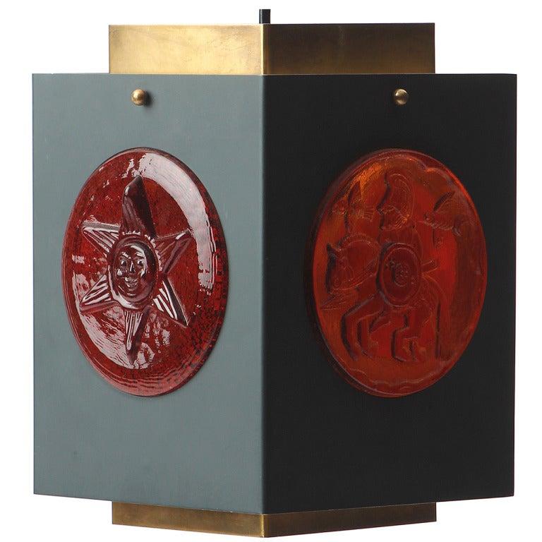 Hanging Lantern By Erik Hoglund For Sale At 1stdibs