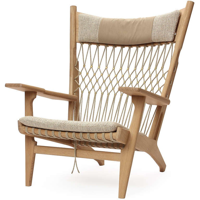 Furniture Web: A PP129 Web Chair By Hans J. Wegner For Sale At 1stdibs
