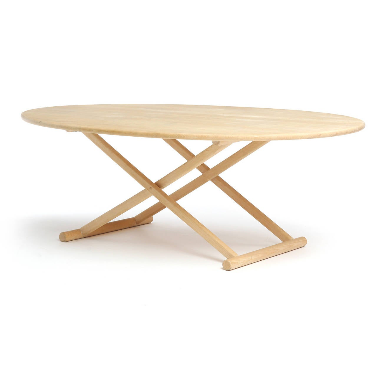 Danish Oval Low Table For Sale