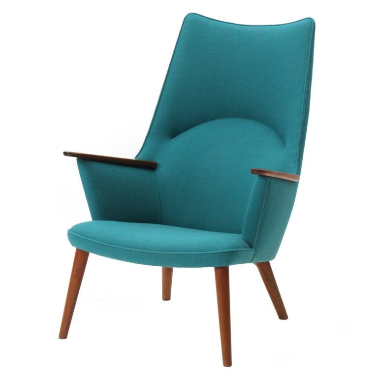 High Back Chair by Hans J. Wegner 1