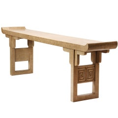 Massive Modern Altar Table