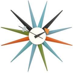 The Sunburst Clock by George Nelson