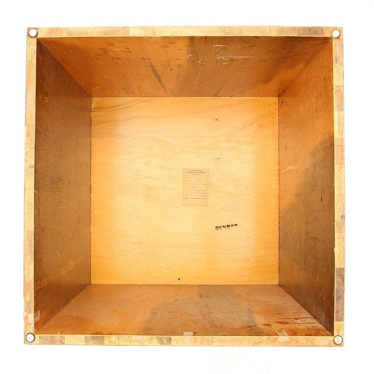 American Walnut Cube Table by Edward Wormley for Dunbar For Sale
