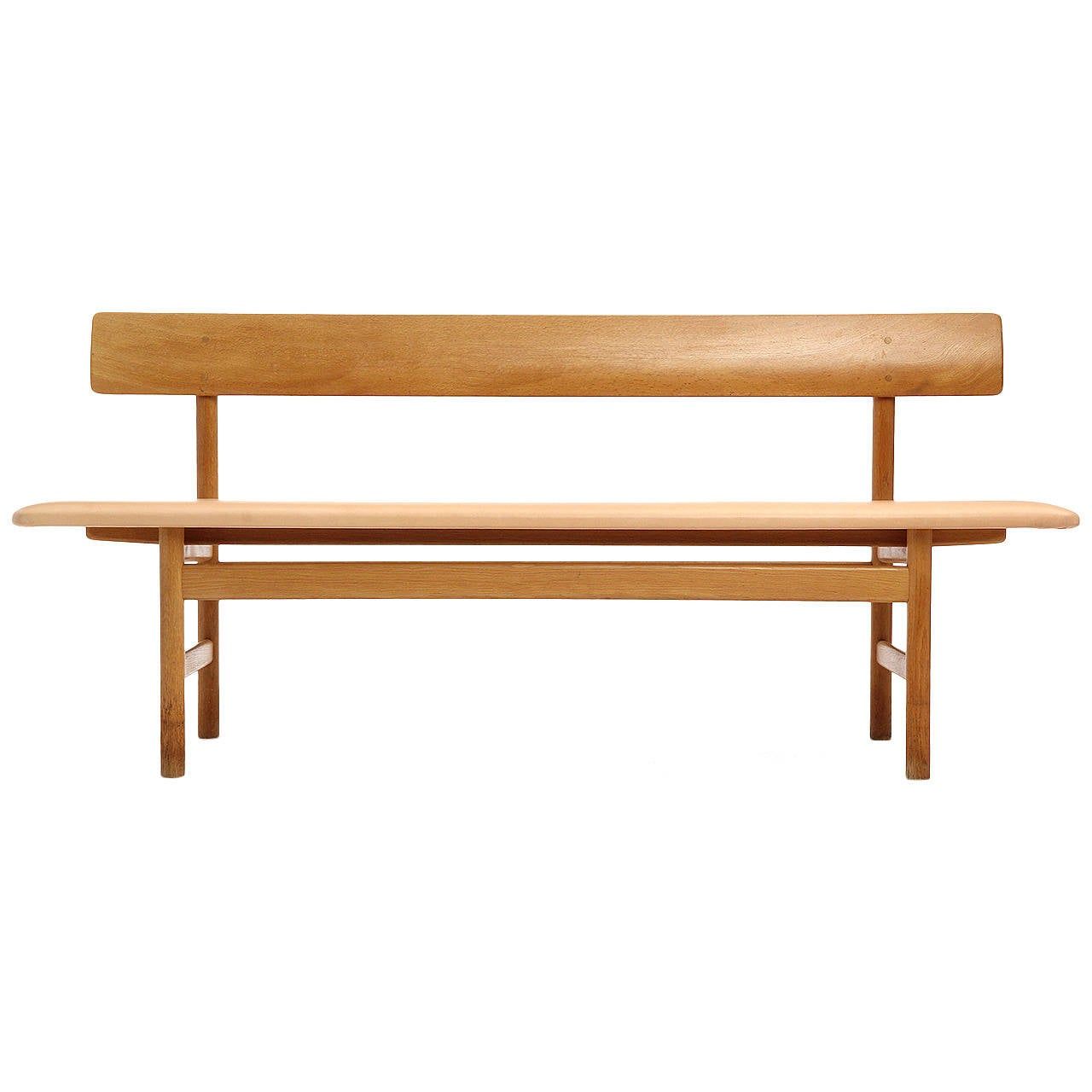 Shaker Bench By Borge Mogensen At 1stdibs