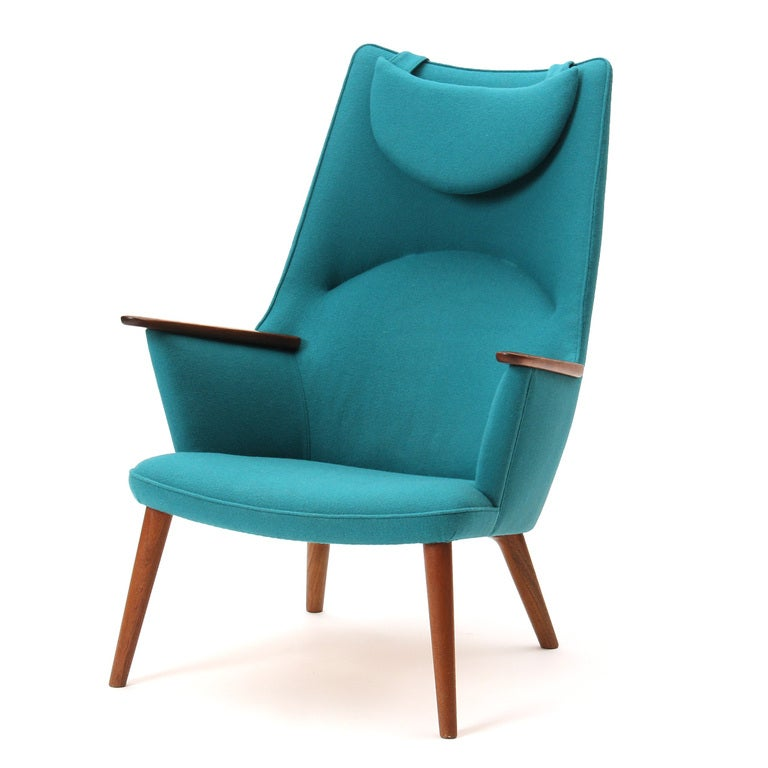 High Back Chair by Hans J. Wegner 3