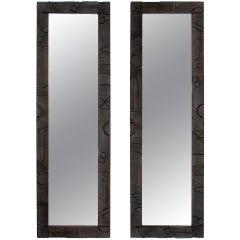 Pair of Mirrors by Paul Evans