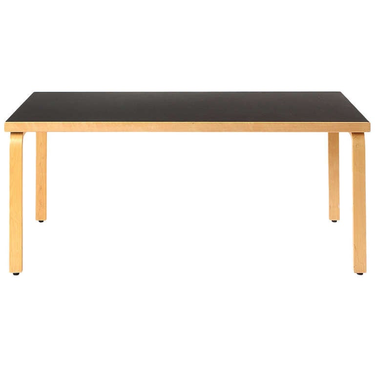dining table by alvar aalto for sale at 1stdibs. Black Bedroom Furniture Sets. Home Design Ideas
