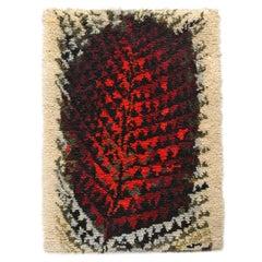 Hand-Loomed Rya Rug