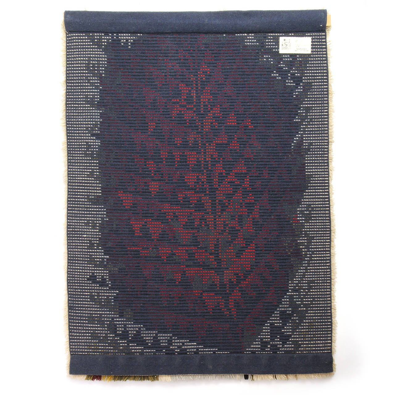 Hand-Loomed Rya Rug In Good Condition For Sale In New York, NY