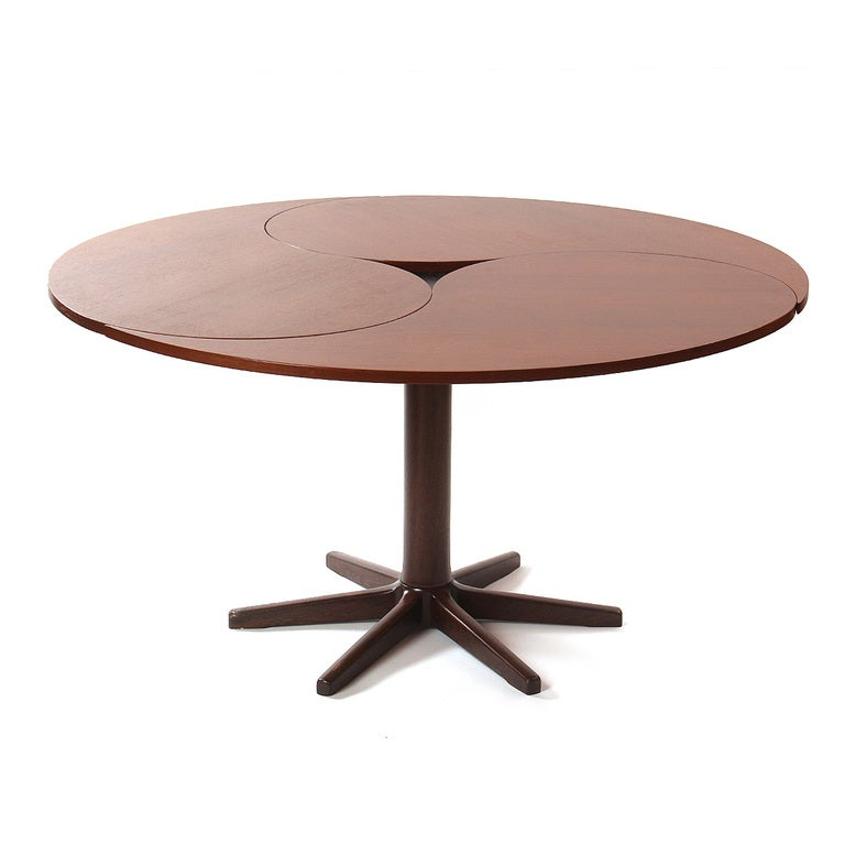 Ying yang table by ole gjerl v knudsen and torben lind at for Table yin yang basse