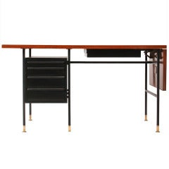 Drop-Leaf Desk by Edward Wormley for Dunbar