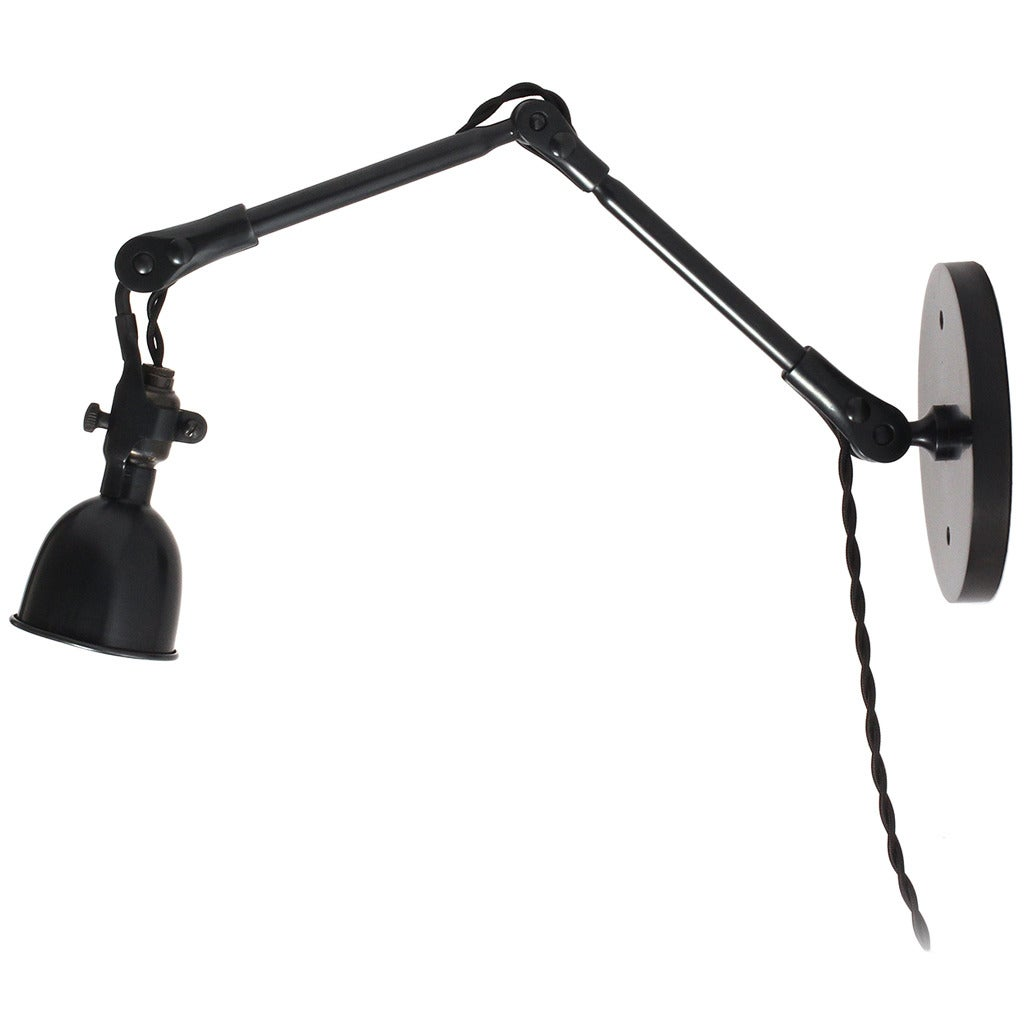 Articulating Steel Wall Sconce 1