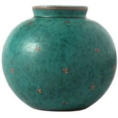 Argenta Vase by Wilhelm Kage