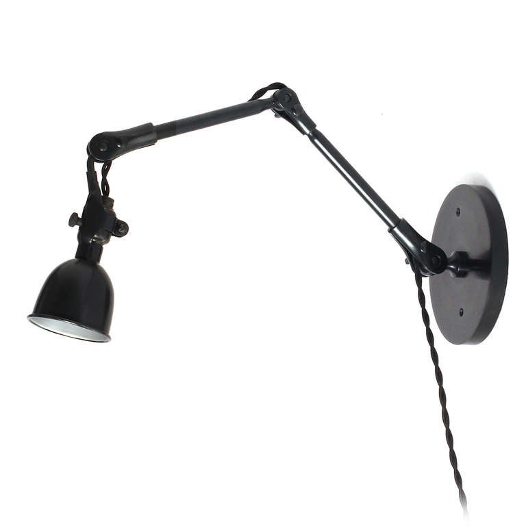 Articulating Steel Wall Sconce 2