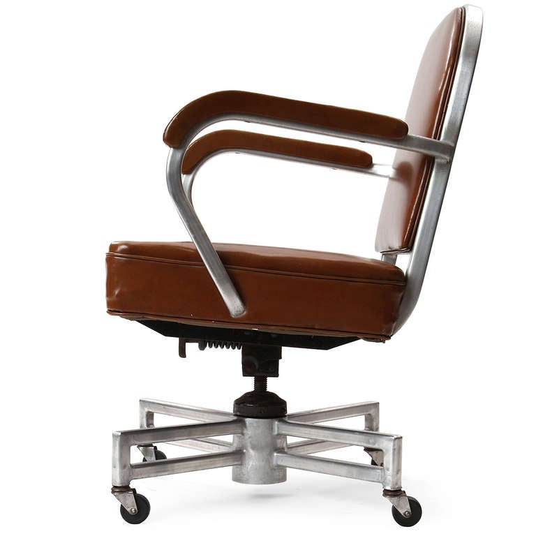 Deluxe Desk Chair By General Fireproofing For Sale At 1stdibs