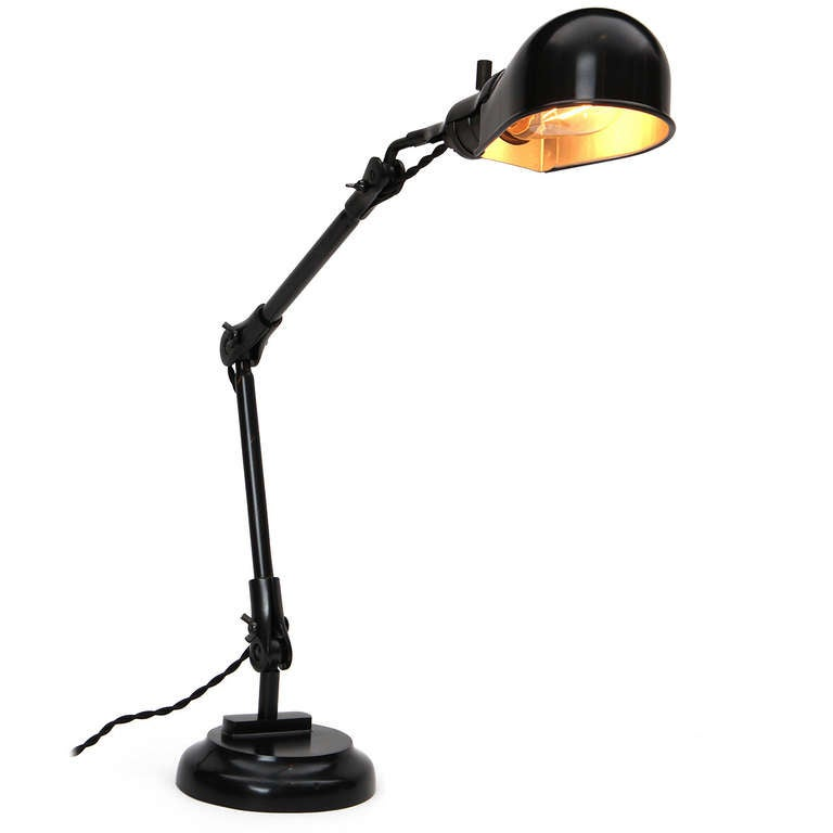 Industrial Adjusting Table Lamp 4