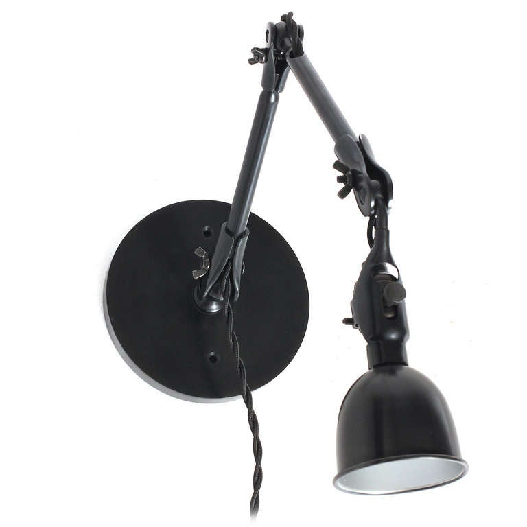 Articulating Steel Wall Sconce 7