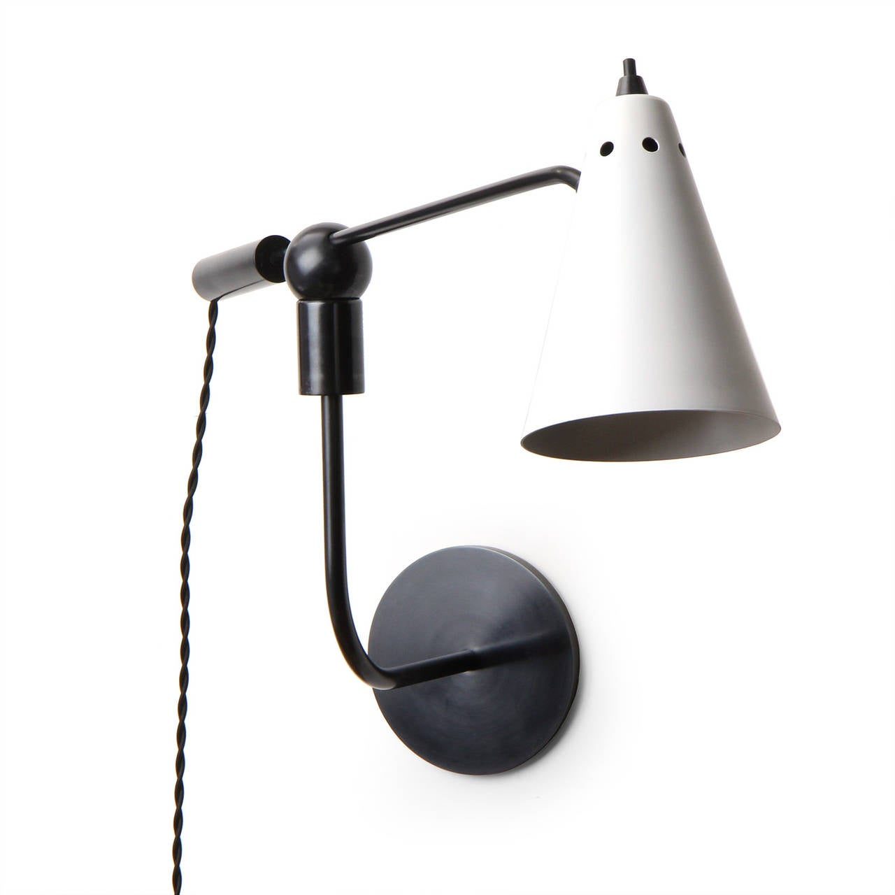 Wall Lamps Adjustable : Adjustable Wall Lamps by Heifetz at 1stdibs