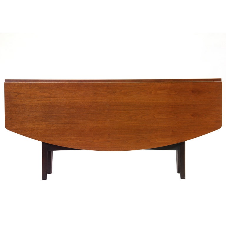 Drop-Leaf Table by Edward Wormley For Sale