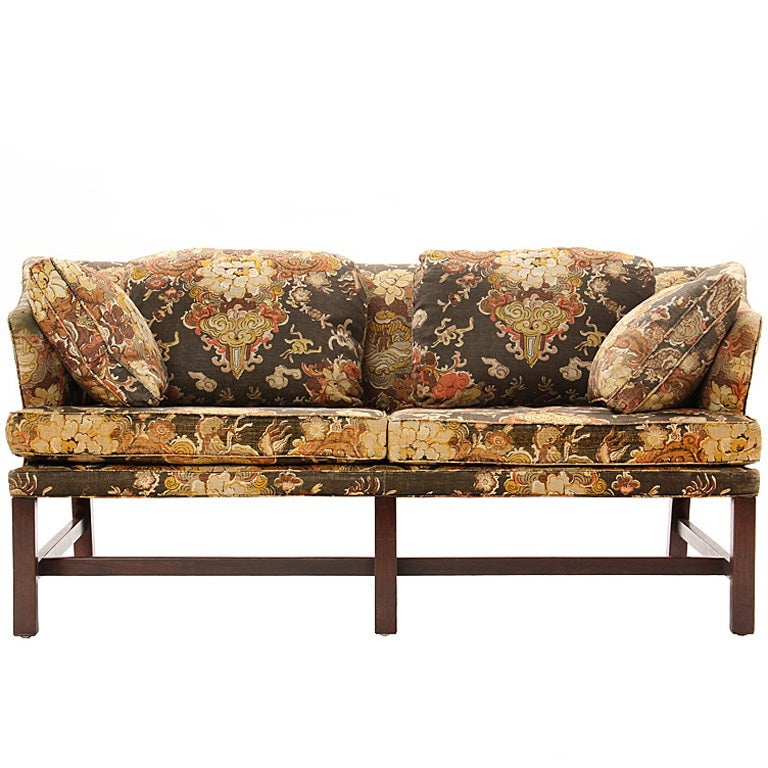 Settee by edward wormley for dunbar for sale at 1stdibs for Settees for sale