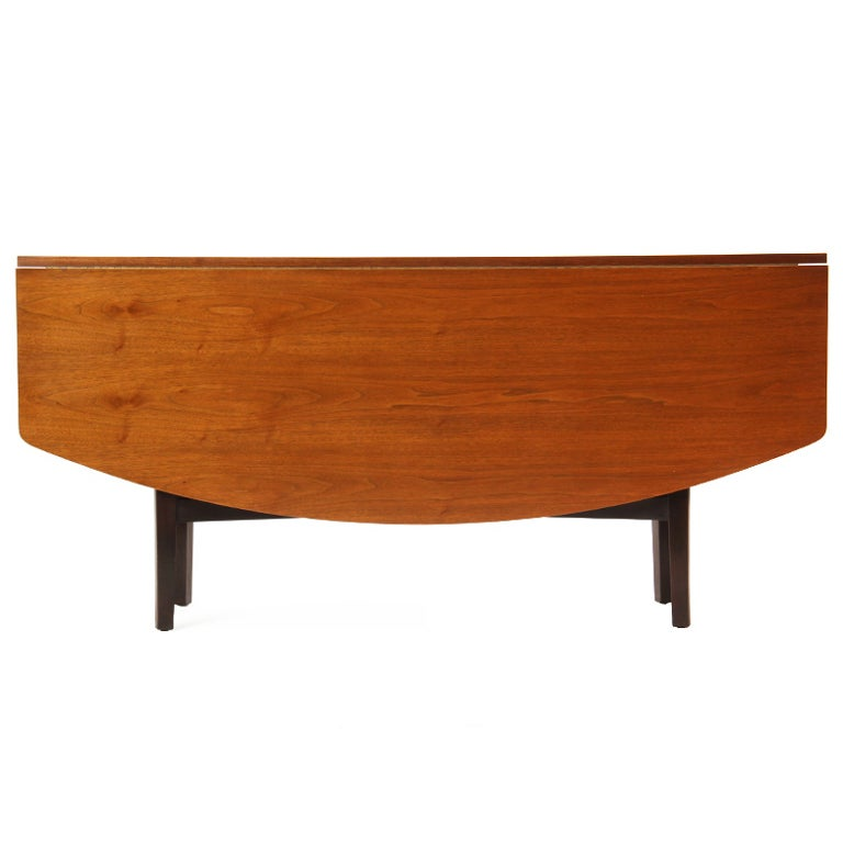 Drop Leaf Console Table By Dunbar At 1stdibs