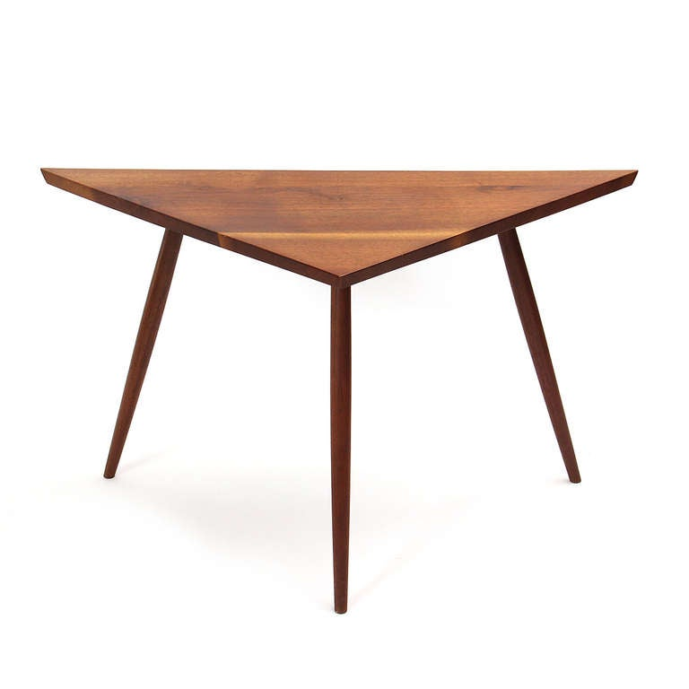 Corner table by george nakashima studios at 1stdibs for Corner side table