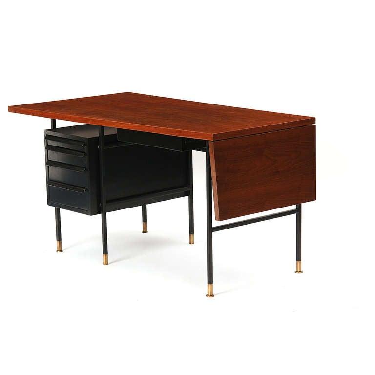 American Drop-Leaf Desk by Edward Wormley for Dunbar For Sale
