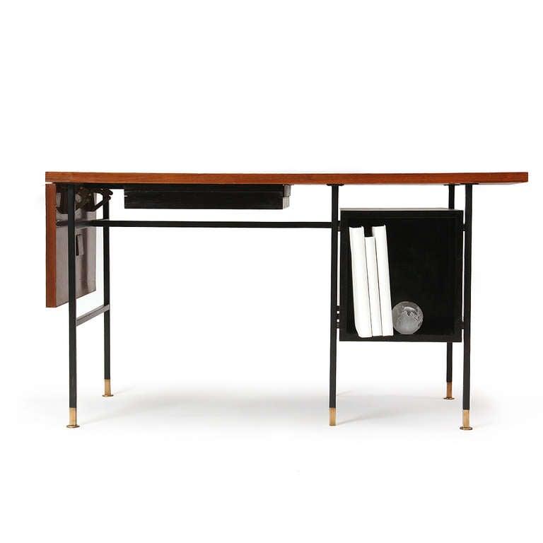 Walnut Drop-Leaf Desk by Edward Wormley for Dunbar For Sale