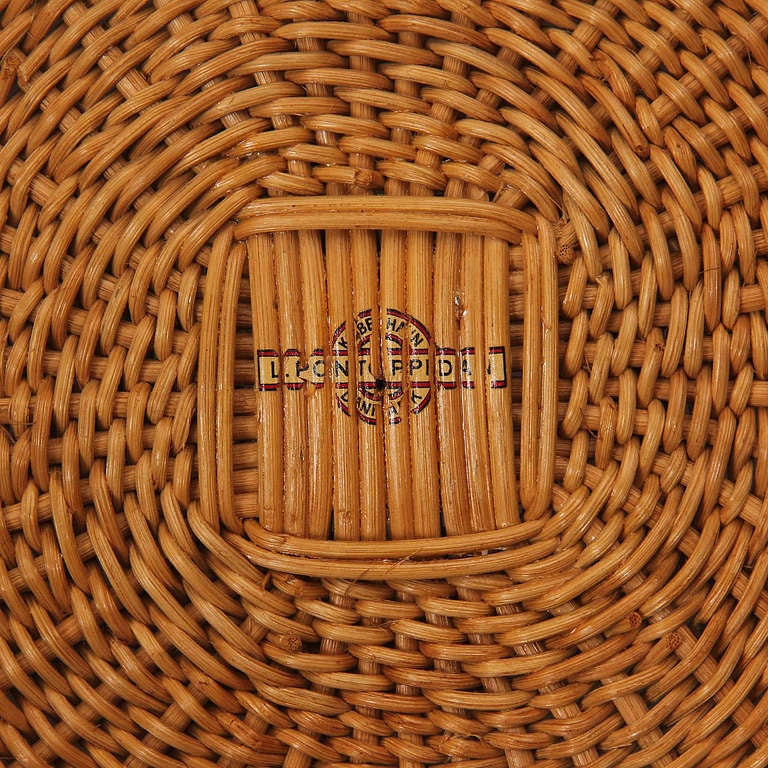 Teak and Wicker Chair by Nanna Ditzel 9